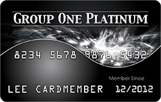 Group One Platinum Credit Card | Lynx Financials